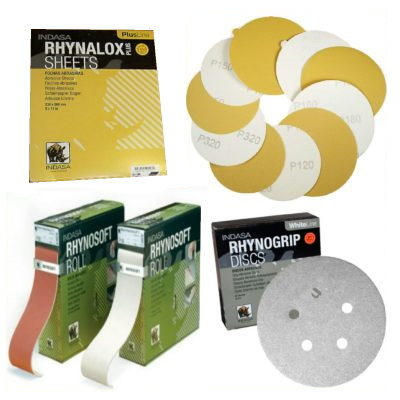 Sanding Discs, Sheets, and Rolls